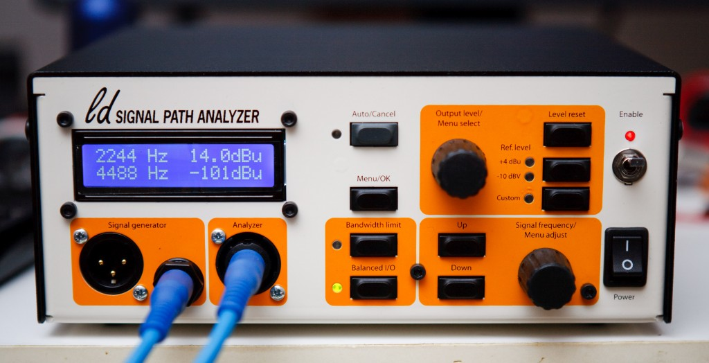 Final THD analyzer