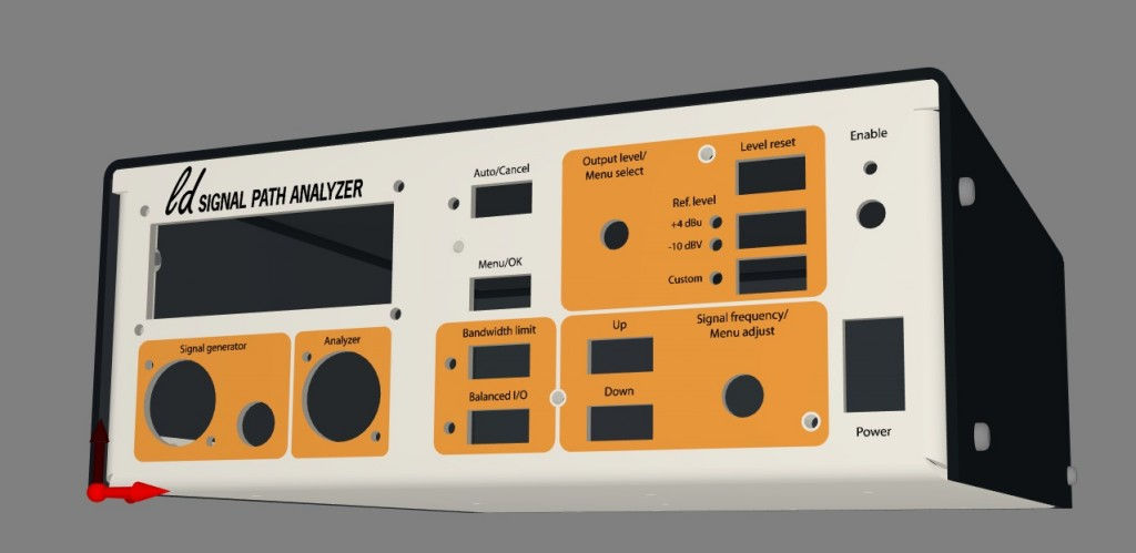 THD analyzer 3D model